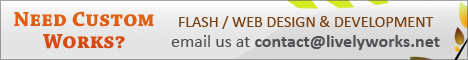 Needs Custom Works Flash Web Design and Development Please contact us through Our Profile Page